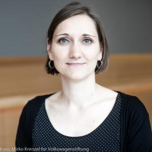 Dr. Patricia Kanngießer, Freigeist-Fellow der VolkswagenStiftung